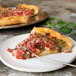 Chicago Deep Dish Pizza - Best Seller Half & Half - 2 Pack
