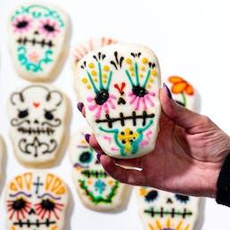 Dia De Los Muertos Cookies - 6 Pack