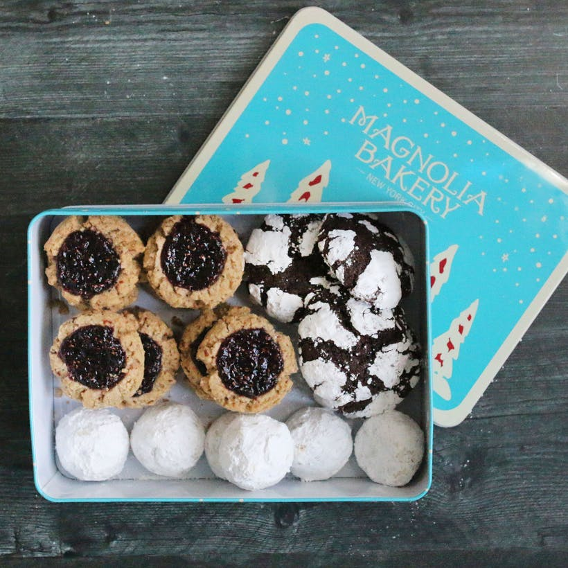 Winter Wonderland Cookie Assortment in Tin