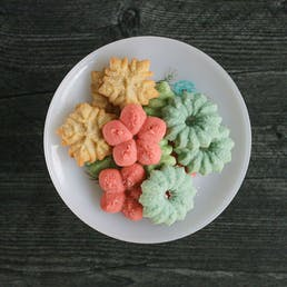 Spritz Holiday Cookies