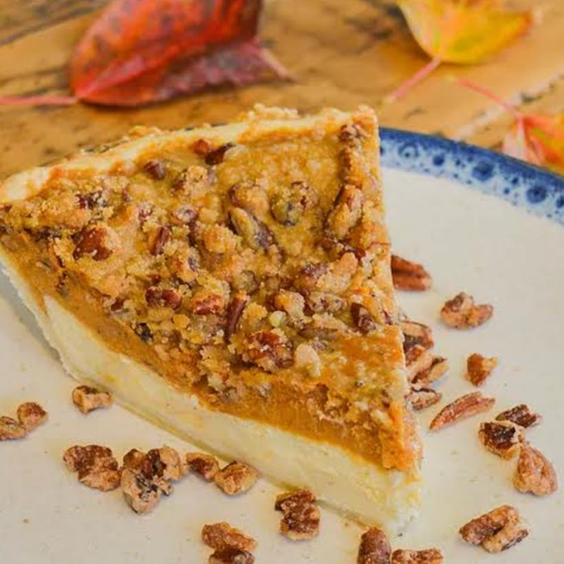 Shelly's Pumpkin Praline Pie