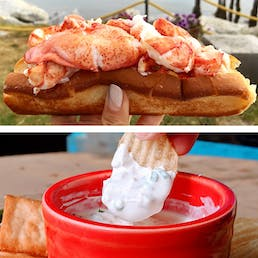 Lobster Roll Kit And Clam Dip