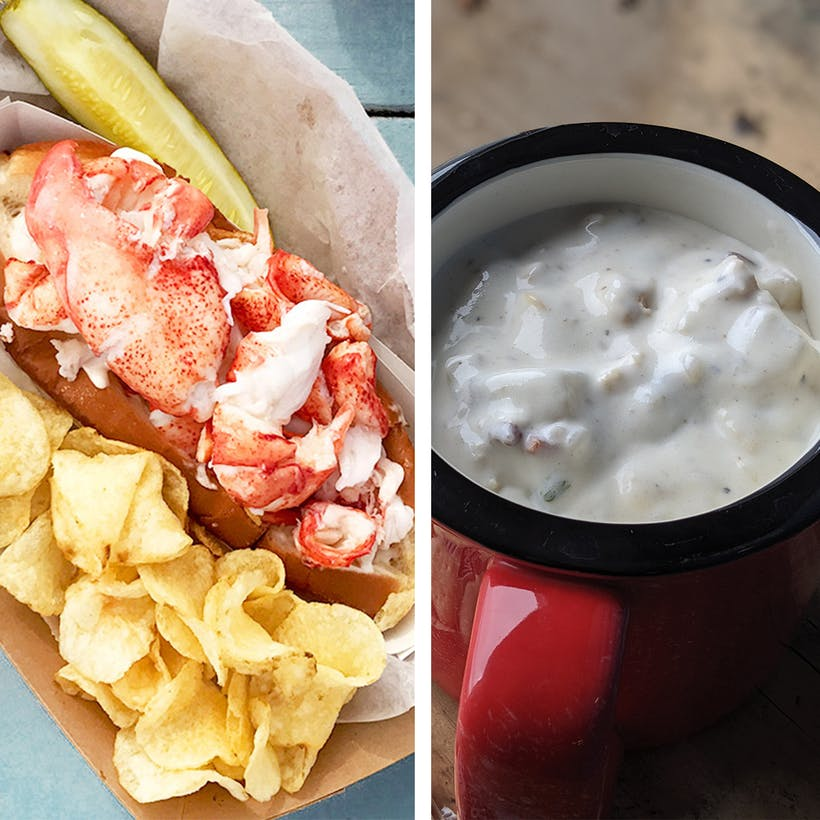 Lobster Roll Kit And Clam Chowder