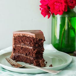Chocolate Buttercream Frosting Cake