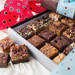 Holiday Baby Brownies - 16 Pack