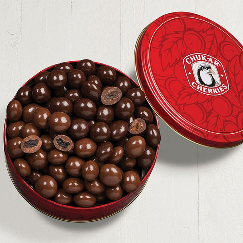 Milk & Dark Chocolate Cherry Classic Tin