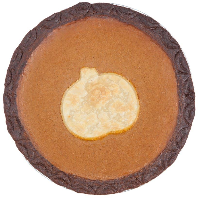 Gingersnap Pumpkin Pie - Gluten-Free