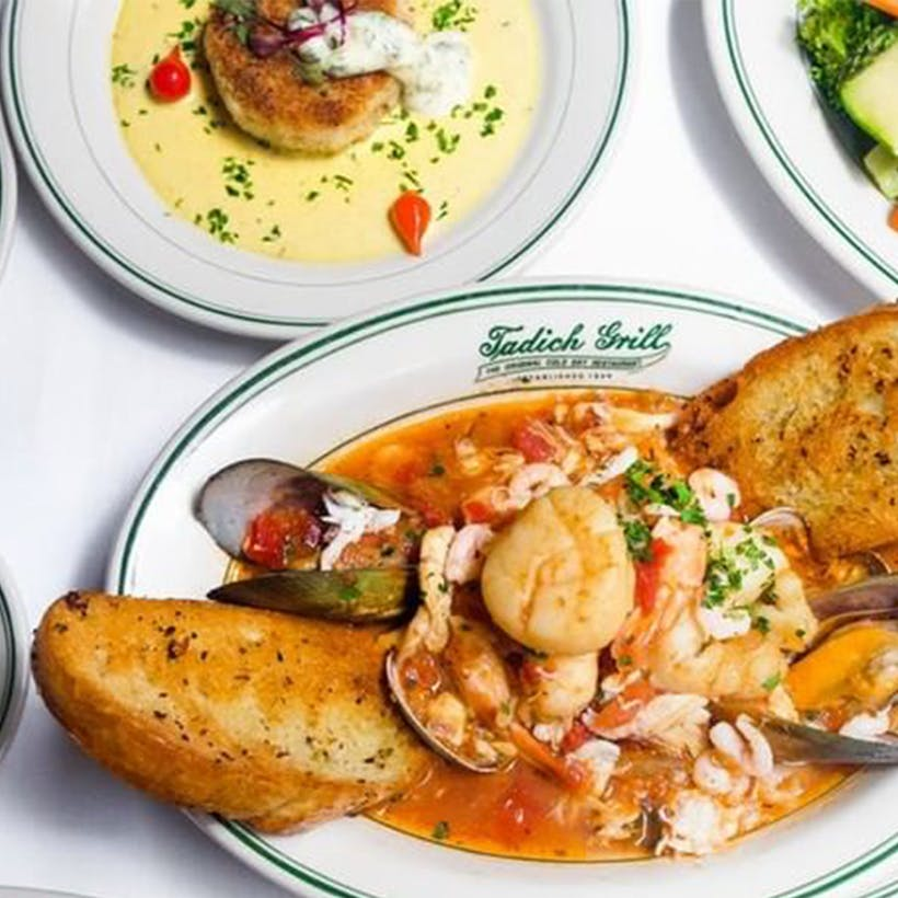 Famous Cioppino and Dungeness Crab Cake Dinner for 2
