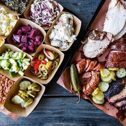 BBQ Meat and Sides Feast