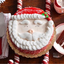 Santa's Chocolate Peppermint Cake