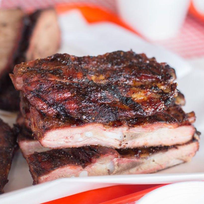 Texas-Size Pork Spare Ribs - 1 Rack