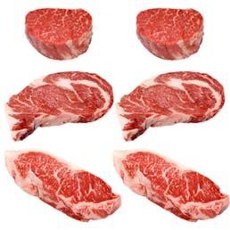 California Reserve Steaks - Sampler 6 Pack