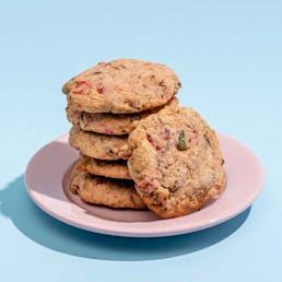 Pecan Fruit Cake Cookies