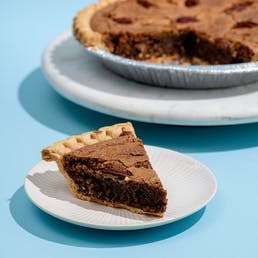 Texas Pecan Fudge Pie