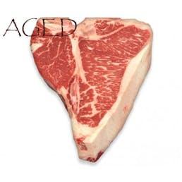 Dry-Aged USDA Prime Black Angus T-Bone Steak