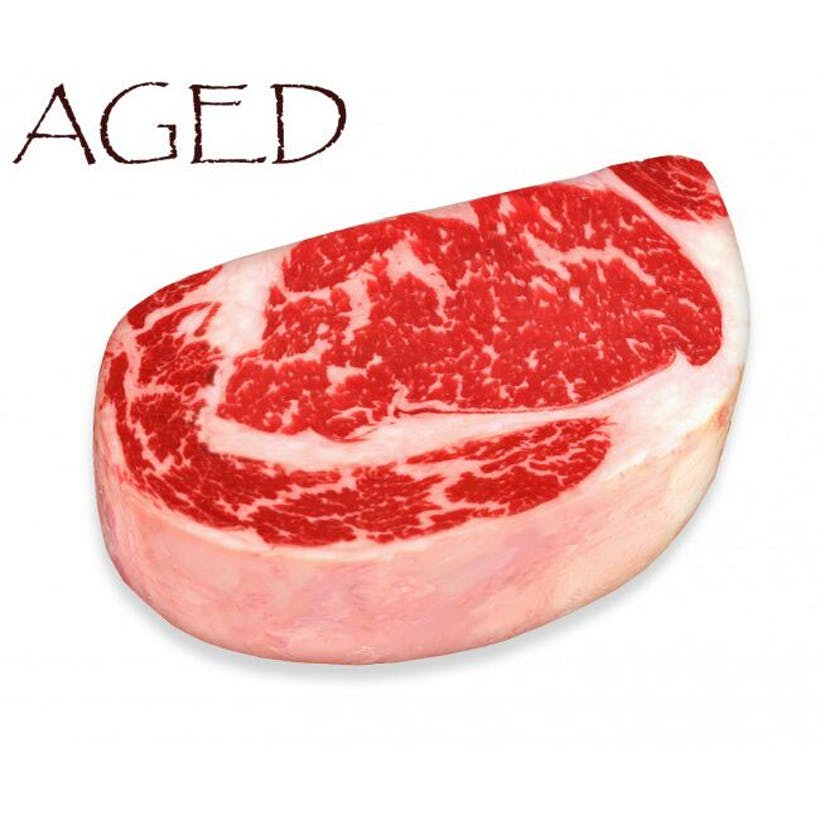 Dry-Aged USDA Prime Black Angus Boneless Rib Steak, Center Cut