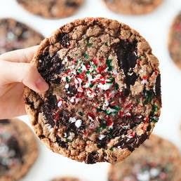 SPECIAL EDITION:  Chocolate Chip Peppermint Cookies - 6 Pack