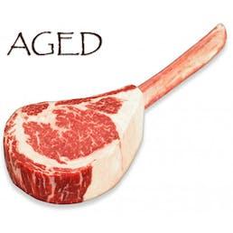 Dry-Aged USDA Prime Black Angus Tomahawk Steak, Center Cut (36 - 40 oz)