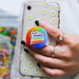 Rainbow Cake PopSocket