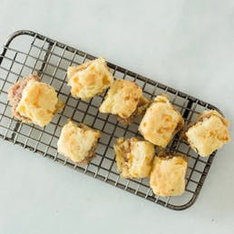 Cocktail Ham Biscuits