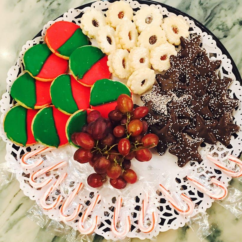Christmas Bagels + Desserts