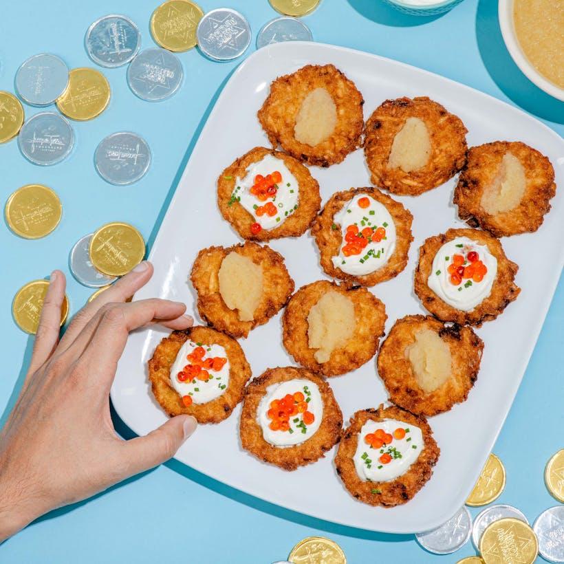 Bite Sized Gluten Free Latkes - 48 Pack