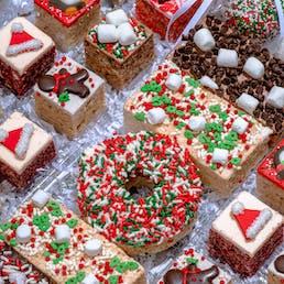 Deluxe Rice Krispie Treats Christmas Gift Box