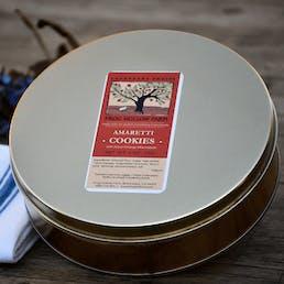 Amaretti Cookie Gift Tin (Gluten Free)