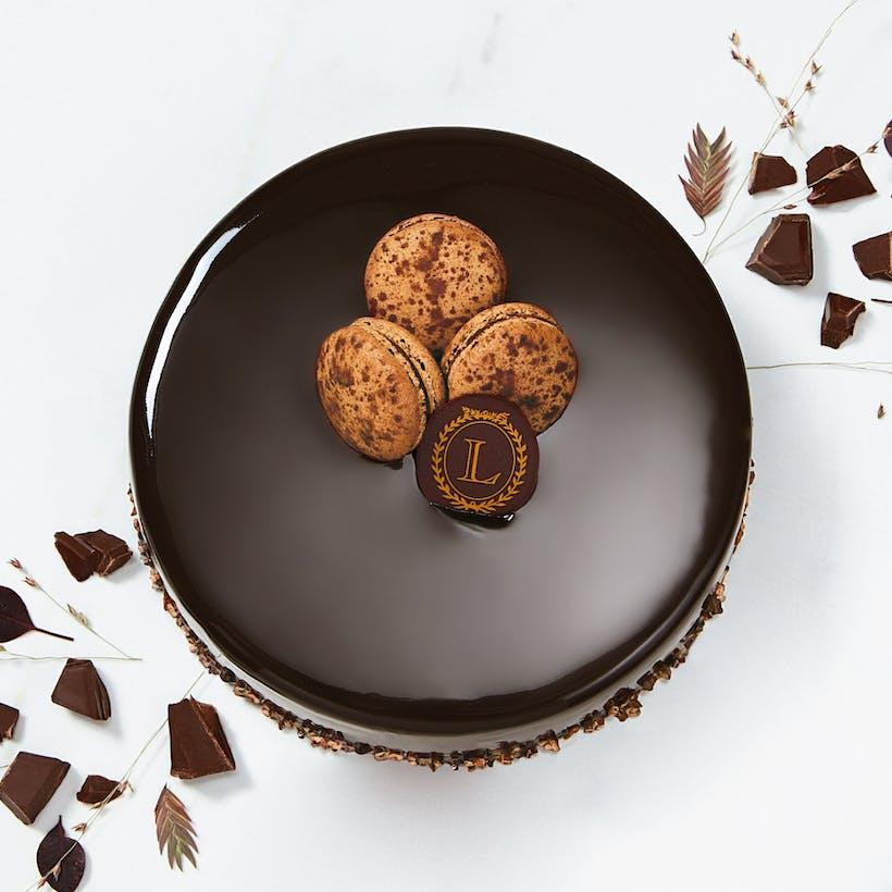Chocolate Macaron Entremets - Serves 4 - 10