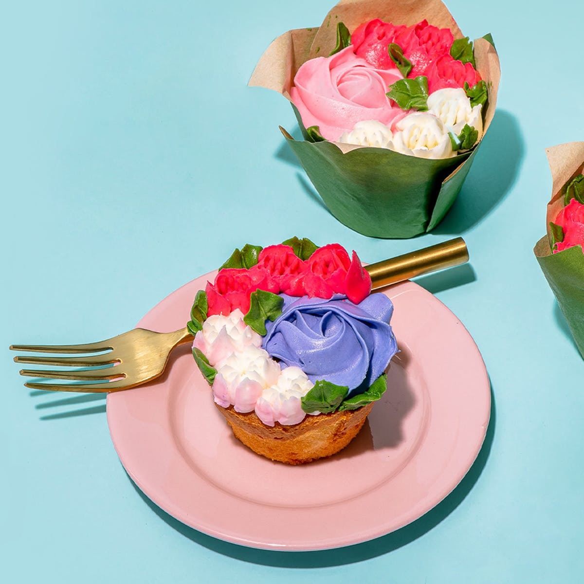 Bouquet Cupcakes 8 Pack By We Take The Cake Goldbelly