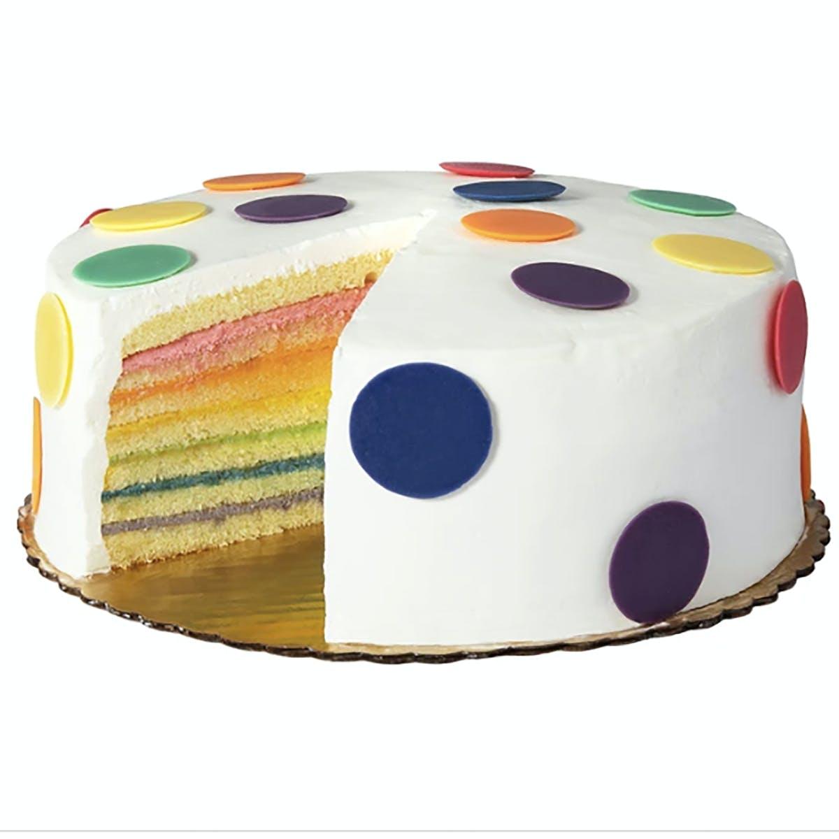 Astonishing Happy Birthday Rainbow Cake By Carolines Cakes Goldbelly Funny Birthday Cards Online Hendilapandamsfinfo