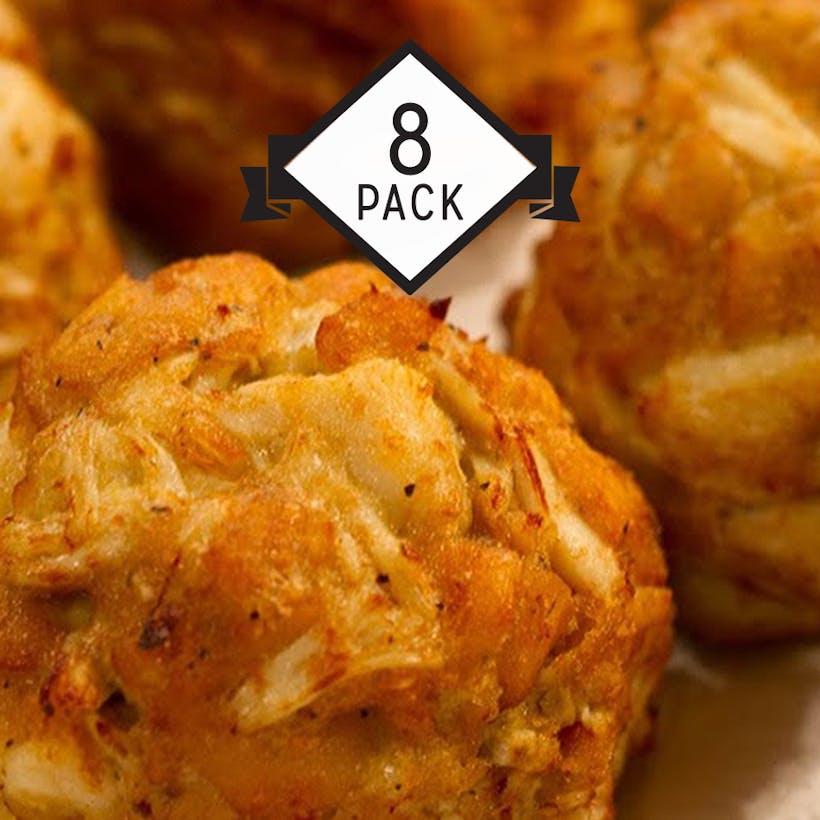 Jumbo Lump Crab Cakes - 8 Pack