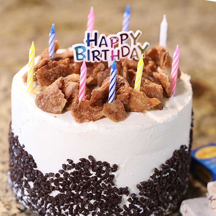 Chocolate Cannoli Cream Cake Birthday Pack