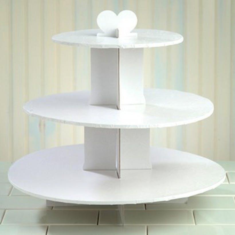 White Cupcake Tree