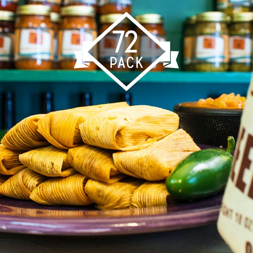Texas Tamales Variety PLUS - 72 Pack