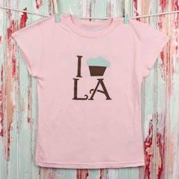 I Cupcake LA Tween Tee