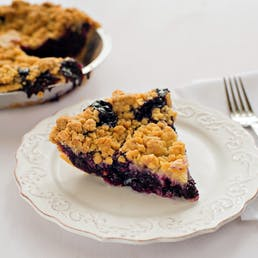 West Bay Blueberry Crumb Pie