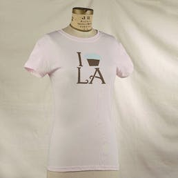 I Cupcake LA Women's Fitted Tee