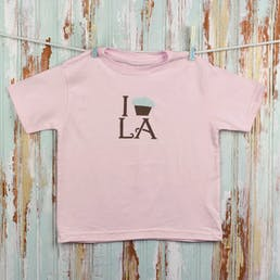I Cupcake LA Toddler Tee