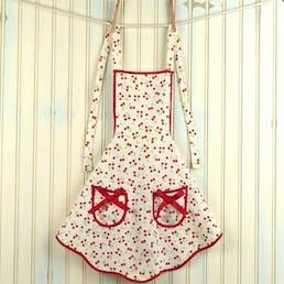 Retro Cherries Children's Ava Apron
