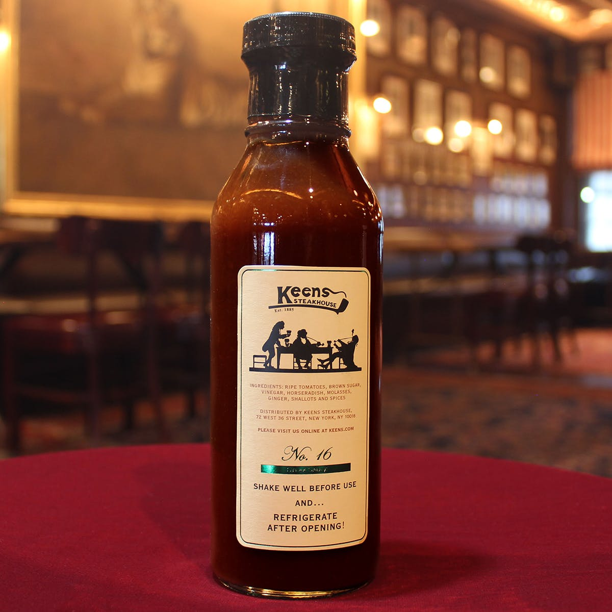 Steak Sauce By Keens Steakhouse Goldbelly