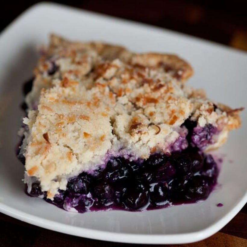 Famous Blue Hawaiian Pie