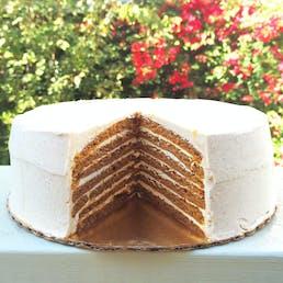 7 Layer Pumpkin Cake