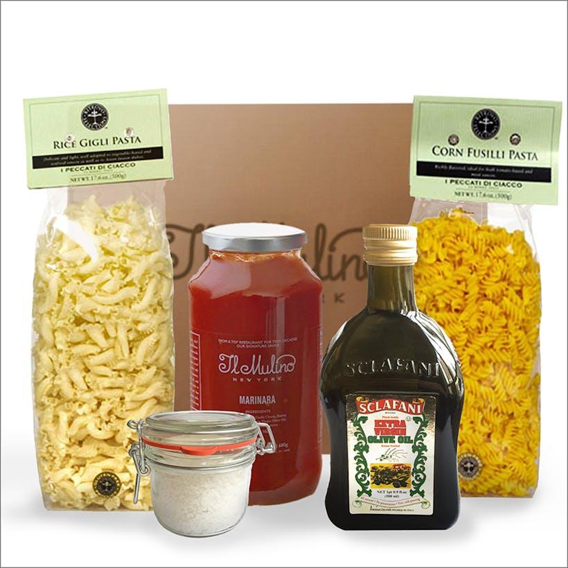The Perfect Pasta Gift Basket - Gluten Free