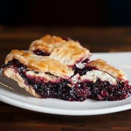 Marionberry & Hazelnut Pie